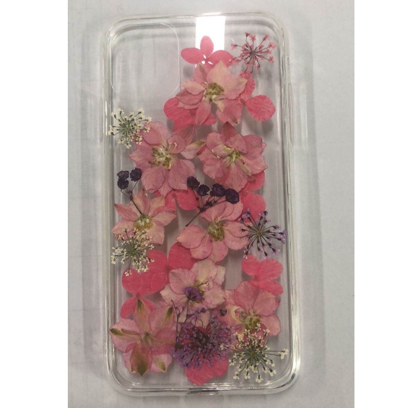 Dried Flower Epoxy Phone Case, Glitter Epoxy Case